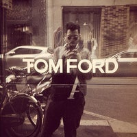 Photo taken at Tom Ford Showroom by Roberto E. on 10/12/2012