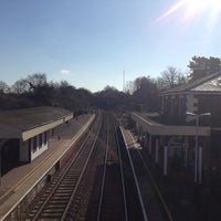 Photo taken at Whitchurch Railway Station (WCH) by Marques H. on 3/31/2013