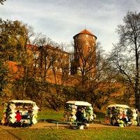 Foto tirada no(a) Zamek Królewski na Wawelu por Димон Т. em 11/4/2012
