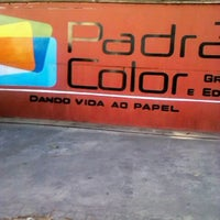Photo taken at Padrão Color gráfica e editora by Eduardo L. on 9/19/2012