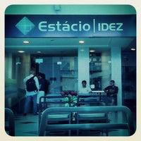 Photo taken at Estácio iDez by Neto A. on 10/19/2013