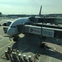 Photo taken at Lufthansa Flight LH 462 by Lydia F. on 5/1/2016