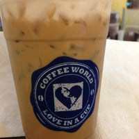 Photo taken at Coffee World @ Central Khonkaen by 💗✨RayR✨💗 on 7/26/2013