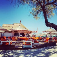 Photo taken at Mambo Beach & Sunset Bar by Bogdan T. on 6/7/2015