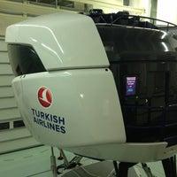 3/6/2013 tarihinde Alper G.ziyaretçi tarafından Türk Hava Yolları Uçuş Eğitim Başkanlığı'de çekilen fotoğraf