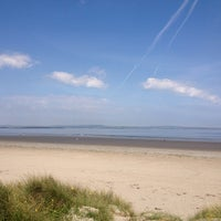 Photo taken at Enniscrone Beach by Priscilla L. on 6/9/2013