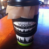 Photo taken at The Woods Coffee (Bakerview Square) by Dominique W. on 10/5/2012