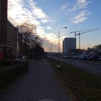Photo taken at Przymorze by Krzysztof . on 11/1/2015