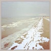 Photo taken at Liepājas pludmale / Liepaja Beach by Andrius B. on 3/31/2013