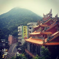 Photo taken at Jiufen lookout point by Nils M. on 6/15/2013