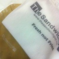 12/14/2012 tarihinde Justin C.ziyaretçi tarafından The Sandwich Guy'de çekilen fotoğraf