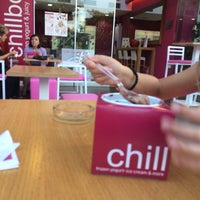 Photo taken at chillbox frozen yogurt by Tasos B. on 9/8/2015