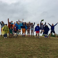 Photo taken at Collin County Adventure Camp Dining Halll by Candace H. on 9/28/2017