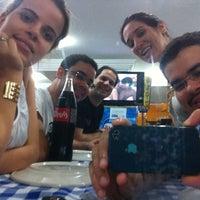 Photo taken at Pizzaria Garoa Paulista by Leonardo M. on 10/1/2012