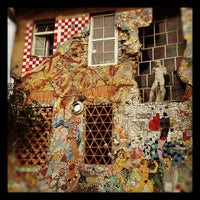 Photo taken at AKC Metelkova mesto by Iskander S. on 9/30/2012