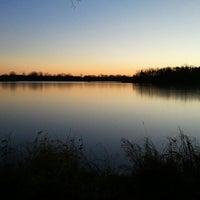 Photo taken at Markgrafs Lake Trail by Liz N. on 12/4/2012