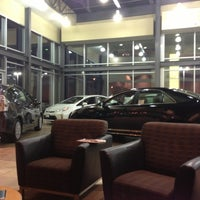 Photo taken at Carlson Toyota by Thomas V. on 11/15/2012