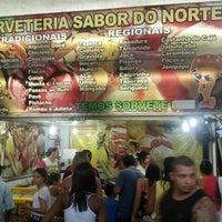 Photo taken at Sorveteria Sabor do Norte by Ozomatli O. on 12/21/2014