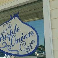 Photo taken at Purple Onion Cafe by Kristen C. on 9/5/2016