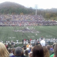 Photo taken at Bob Waters Field at E.J. Whitmire Stadium by TeeJay on 10/27/2012