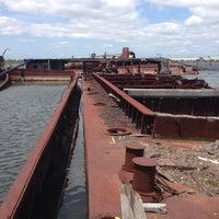 Photo taken at Staten Island Tugboat Graveyard by Pablo I. on 6/21/2015