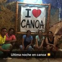 Photo taken at Playa de Canoa by Katty N. on 3/27/2016