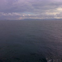 Photo taken at Selat Sunda by Agustinus D. on 1/29/2015