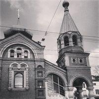 Photo taken at Russische Kirche by Matthias B. on 3/25/2014
