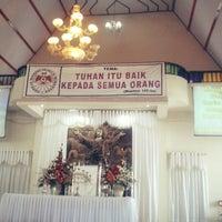 Photo taken at GMIM Getsemani Sario Kota Baru by Lingkan K. on 5/5/2013