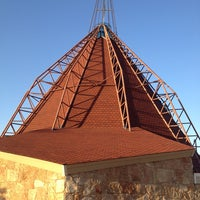 Photo taken at Teepee Church by Kat T. on 1/12/2014