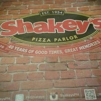 Photo taken at Shakey's by Angela Rhea D. on 3/1/2016