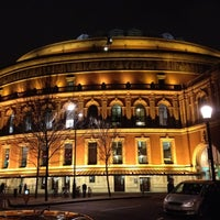 Photo taken at Royal Albert Hall by Triz on 12/18/2012