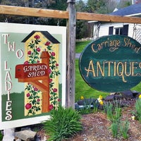 Photo taken at Carriage Shed Antiques & Garden by Jim L. on 5/13/2013