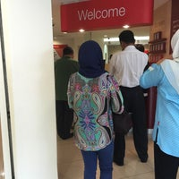 Photo taken at CIMB Bank by Ali Z. on 3/10/2016