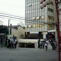 Photo taken at Universidade Cruzeiro do Sul - Campus Liberdade by Rodrigues S. on 11/21/2012