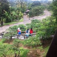 Photo taken at Kebun Wisata Pasir Mukti by Leo D A. on 4/3/2015