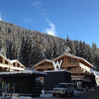 Photo taken at W Verbier Hotel & Residences by Jack W. on 1/2/2014