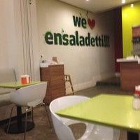 Photo taken at Ensaladetti by Eduardo G. on 4/17/2013