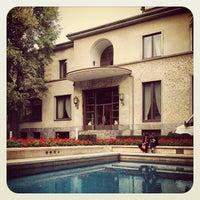 Photo taken at Villa Necchi Campiglio by Phoebus I. on 10/13/2012