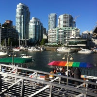Photo taken at Aquabus Granville Island Dock by Oleg S. on 7/15/2013