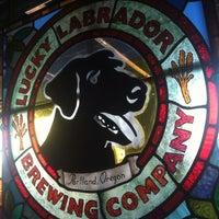 Photo taken at Lucky Labrador Brew Pub by Jeremy S. on 7/28/2013