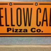Photo taken at Yellow Cab Pizza Co. by Alfie on 12/21/2012