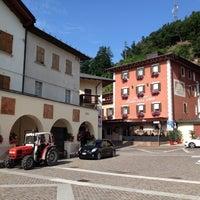 Photo taken at Baselga di Pinè by Fabio D. on 8/7/2014