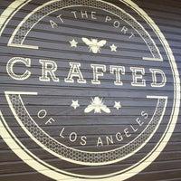 Foto tomada en CRAFTED at the Port of Los Angeles por Miss M el 1/27/2013