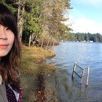Photo taken at West Shawnigan Provincial Park by Emma K. on 11/17/2013