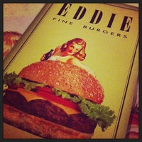 Photo taken at Eddie Fine Burgers by Carmen R. on 12/30/2012