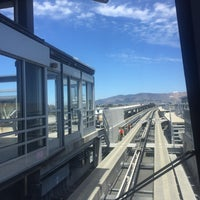 Photo taken at SFO AirTrain Station by Clotilde G. on 7/15/2017