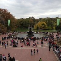 Photo taken at Bethesda Fountain by James W. on 10/27/2012