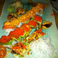 Photo taken at Monster Sushi by Lauren on 11/12/2012