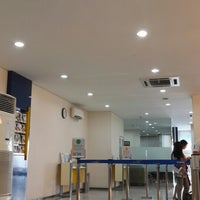 Photo taken at Bank Mandiri cabang Makassar Sulawesi by Sherly J. on 4/6/2015